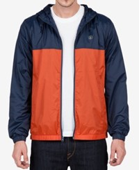 Volcom Men's Ermont Hooded Jacket Navy