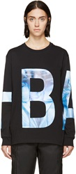 Hood By Air Black And Blue Seven Wonder Logo Shirt