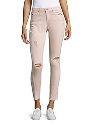 Ag Adriano Goldschmied Aged Denim Distressed Legging Ankle Jeans Sun Faded Distressed Sandy Rose