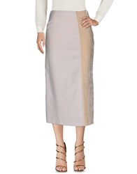 Angelos Frentzos Long Skirts Beige