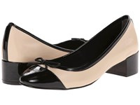 Cole Haan Sarina Pump Froth Black Patent Women's Slip On Dress Shoes