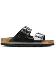 Birkenstock Double Strap Sandals Metallic