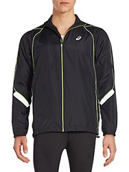 Asics Reflective Track Jacket Black