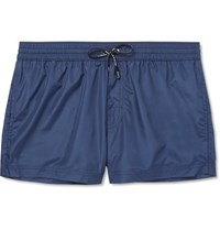 Dolce And Gabbana Short Length Swim Shorts Blue