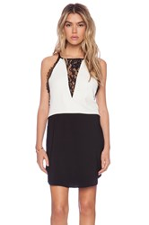 Liv Cara Shift Dress White
