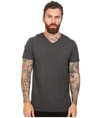 Oakley V Neck Tee Jet Black Heather Men's T Shirt