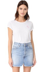 Sundry Bisous Boy Tee White