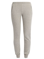 Atm Anthony Thomas Melillo Slim Leg Cotton Blend Track Pants Grey