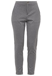 Part Two Mighty Trousers Medium Grey Melange