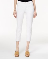 Styleandco. Style And Co. White Wash Cropped Jeans Only At Macy's Bright White
