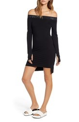 Ivy Park Bardot Body Con Dress Black