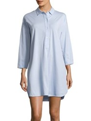 Lord And Taylor Classic Cotton Sleepshirt Morning Sky