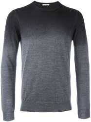 Paolo Pecora Degrade Effect Jumper Grey
