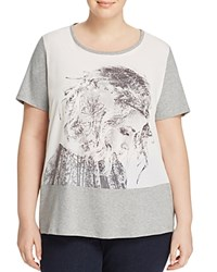 Marina Rinaldi Valenza Photo Print Tee White