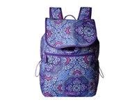 Vera Bradley Lighten Up Drawstring Backpack Lilac Tapestry Backpack Bags Purple