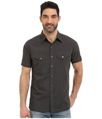 Kuhl Stealth Black Koal Men's Short Sleeve Button Up