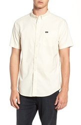 Rvca That'll Do Stretch Shirt Dust Yellow