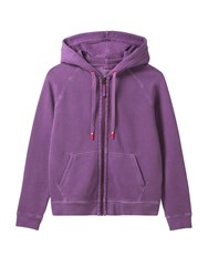 White Stuff Evie Zip Thru Sweat Purple