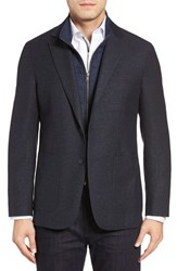 Bugatchi Men's Hybrid Sport Coat Navy