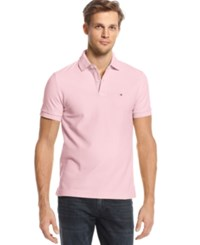 Tommy Hilfiger Custom Fit Ivy Polo Pebble Pink