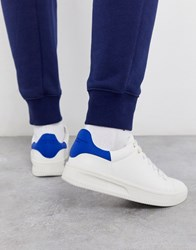 Creative Recreation Chunky Sole Trainers In White And Blue