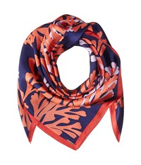 Bcbgmaxazria Coral Reef Square Blue Depths Scarves