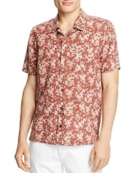 Blank Nyc Blanknyc Floral Print Regular Fit Button Down Shirt Red