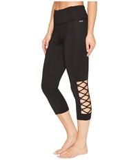 Jockey Active Zephyr Capris Deep Black Women's Capri