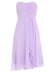 Chase 7 Classic Scarf Midi Dress Lilac