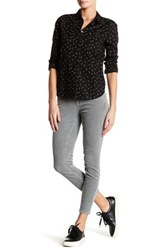 Current Elliott The Stiletto Corduroy Skinny Jean Gray