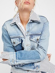 Levi's Boyfriend Patched Trucker Jacket By Made And Crafted