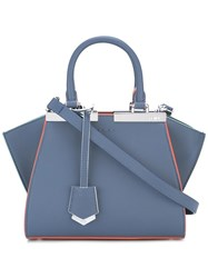 Fendi Mini 3Jours Crossbody Bag Blue