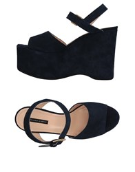 Liviana Conti Sandals Dark Blue