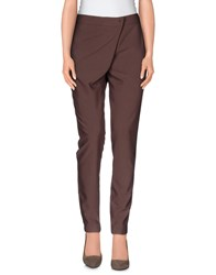 Malloni Trousers Casual Trousers Women Khaki