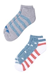 Quiksilver Stars And Stripes Ankle Socks Pack Of 2 Multi