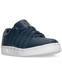 K Swiss Men's The Classic 88 P Casual Sneakers From Finish Line Navy White