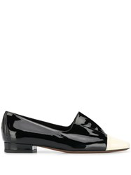 L'autre Chose Slip On Loafers Black