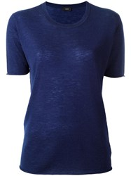 Joseph Layered T Shirt Blue