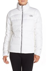 The North Face Women's 'Nuptse 2' Packable Down Jacket Tnfwhite White Birch Print