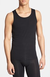 Men's Tommy John 'Second Skin' Tank Top Black