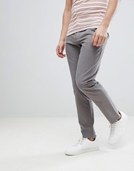 Kiomi Slim Fit Chino In Grey