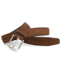 Tommy Hilfiger Tobacco Andrew Suede Belt Brown