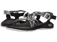 Chaco Zx 1 Classic Origami Black Women's Sandals