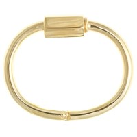 Cast Of Vices Barrel Lock Bracelet Gold