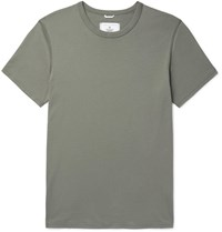 Reigning Champ Pima Cotton Jersey T Shirt Green