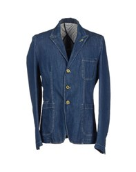 Roberto Pepe Denim Denim Outerwear Men Blue