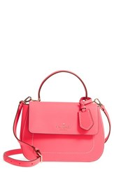 Kate Spade New York Thompson Street Justina Leather Satchel Pink Bright Flamingo