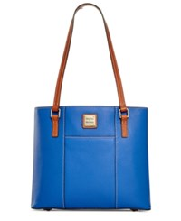 Dooney And Bourke Pebble Small Lexington Shopper French Blue