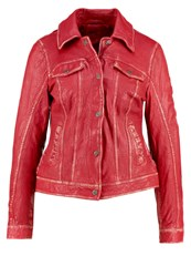 Gipsy Leather Jacket Red