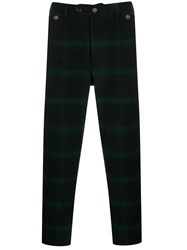 Woolrich Check Print Trousers 60